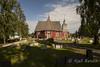 Övertorneå church, sweden (kjellbendik) Tags: europa himmel sverige ferie kirke blå kirker går 2013 byggning geografisk naturoglandskap