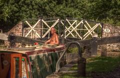 LapworthLocksHDR (Tony Tooth) Tags: bridge boat canal nikon lock hdr narrowboat warwickshire lapworth d90 stratfordcanal splitbridge
