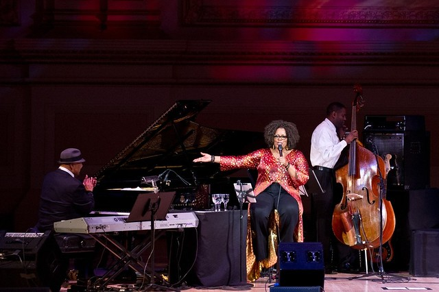 George Duke & Dianne Reeves - Carnegie Hall - Photo by Doug Seymour