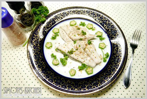 檸檬奶油蒸鱸魚11
