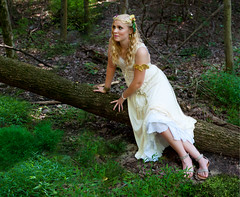 Persephone, the daughter (Rachel.Adams) Tags: portrait forest outside greek woods demeter magic daughter goddess fantasy gods legend persephone myth greekmyth goddessofharvest greeklegend persephoneanddemeter