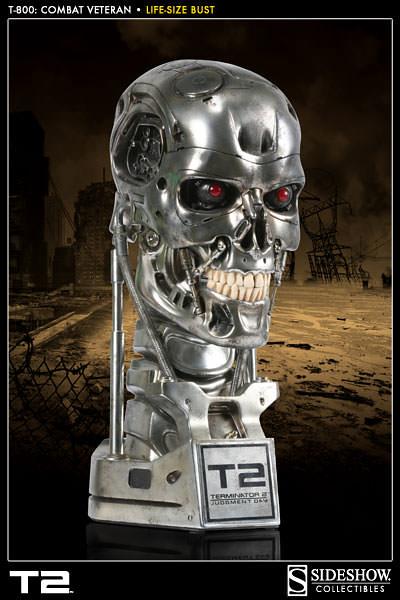 「魔鬼終結者2」15週年紀念T-800 內骨骼 胸像 決定再次販售!!!