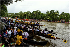 Snake Boat Race (Prabuddha Ray) Tags: india race river boat snake competition kerala canoe longboat onam vallamkali prabuddharay