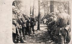Feldgottesdienst - Landsturm 1917 (Paranoid_Womb) Tags: church germany soldier army war postcard wwi religion german imperial priest ww1 greatwar landsturm fieldmass feldgottesdienst