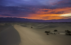 Before sunrise at Death Valley (3dRabbit) Tags: park sky mountain clouds landscape death colorful desert national valley