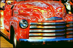 Sand Prepped Chevrolet Truck (greenthumb_38) Tags: california cruise hotrod costamesa lowrider carshow 70200mm ocfair ocfairgrounds canon40d crusinforacure jeffreybass cancercruise sept2013 cancercruise2013