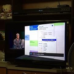 ดู keynote ผ่าน Apple TV นี่มันสบายจริมๆ #appleth