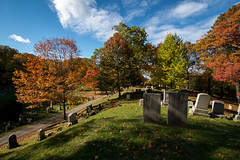Mount Hope Cemetery hill (-dangler) Tags: old trees ny newyork dan nature cemetery graveyard grass leaves landscape outside outdoors day headstone scenic sunny historic foliage nys rochesterny westernnewyork wny monroecounty dangler mounthopecemetery dandangler