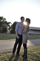 engagement (kimberlyalford) Tags: sunset nc raleigh sunflare sunglare ncma ncmuseumofart engagementphotography engagementcouple kimberlyalford