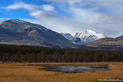 Rondane National Park (Pewald) Tags: autumn mountain snow fall water norway landscape rondane straumbu