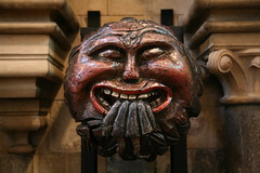 Ceiling Boss, Southwark Cathedral (stevecadman) Tags: sculpture london church architecture oak cathedral architecturaldetail timber gothic medieval ceiling southwark southwarkcathedral 15thcentury ceilingboss
