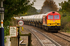 Class 60 60040 with the Kingsbury to Humber Oil Empties at Fiskerton - 06-11-2013 (kevaruka) Tags: england sexy boobs shed tug milf britishrail nottinghamshire class66 networkrail fiskerton class60 oiltrain rhht thephotographyblog ilobsterit
