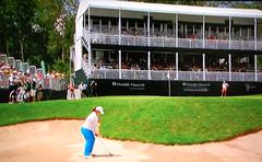 Grey Silo GC, Hole #18 - Inbee Park (rbglasson) Tags: canada golf landscape tv nikon waterloo lpga d40 nikond40 greysilo