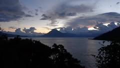 (sftrajan) Tags: lake volcano afternoon guatemala vulcano coluds panajachel volcan vulkan volcn  lagodeatitln  lakeatitln