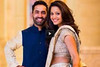 Dinesh Karthik and Deepika Pallikal Engagement