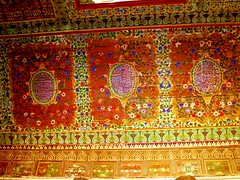 2013-10-23 Marrakesh Morocco (47) (Travel With Olga) Tags: world travel sky art architecture islam religion culture mosaics palace ceiling marakesh morocco 1900 sultan wilderness tombs anthropology islamic bahiapalace a muslic relnofollowtwittera hrefhttpwwwtravelwitholgacom relnofollowwwwtravelwitholgacoma hrefhttpwwwtwittercomtravelwitholga