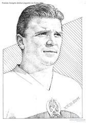 Puskas Hungria Melhor jogador na Copa 1954