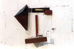Sol  ( 1999 ), plexy, bois, acier, cuivre, nylon, peinture. (emmanuelviard75) Tags: nylon bois acier cuivre plexy