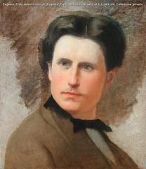 Eugenio Prati Autoritratto di Eugenio Prati 1859 olio su tela 41,5 x 36,5 cm Collezione privata