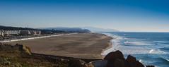 Ocean beach (Franco Folini) Tags: ocean sf sanfrancisco california ca green beach america photography coast photo foto view pacific pacificocean creativecommons oceanbeach vista sanfranc