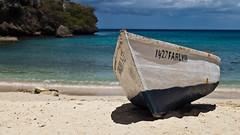 On the beach .. Curacao (:: ed 37 :: 1.2 Million + views :: THANKS :)) Tags: blue shadow beach water clouds canon palms boat wasser ngc wolken bluesky curacao blau blauerhimmel antilles netherlandsantilles bucht caribbian westpunt ef24105mmf4lisusm playaabou canoneosd canoneos5dmarkii dutchcaribbian