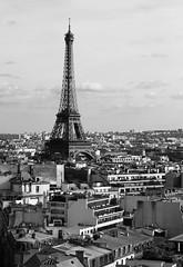 La Tour Eiffel (Martin Pilt) Tags: paris france tower monochrome architecture ledefrance eiffeltower toureiffel
