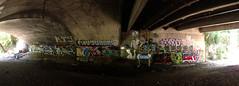 (Nomad_Vagrant) Tags: art abandoned northerncalifornia creek graffiti exploring tunnel cctv bayarea peninsula seeseetv