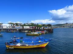 Muelle de Ancud (Thefx / Francisco) Tags: ocean chile sea muelle mar pacific sur pacfico oceano ancud chilo surdechile regindeloslagos