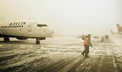 Keep Rollin', Rollin', Rollin', Rollin' (Malena ) Tags: airplane airport michigan delta dtw iphone 2014 boeing737