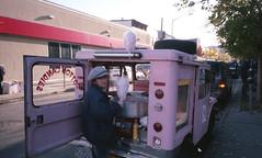 (David Chee) Tags: street nyc newyork film brooklyn analog fuji candy superia cotton 400 avenue ricoh gr1 bushwick stanhope gr1v knickerbocker