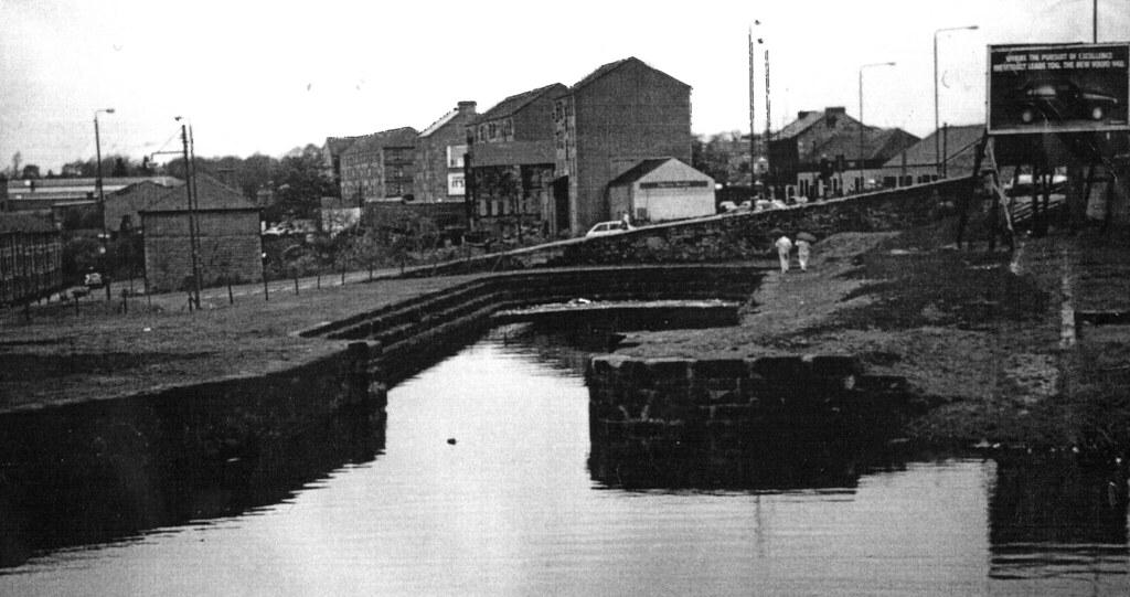 Kelvin Dock Maryhill 1990s