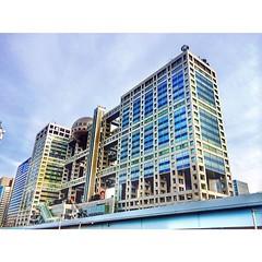 #iczzjapan Fuji TV Building สำนักงานใหญ่ของสถานีโทรทัศน์ ฟูจิ อีกหนึ่ง Landmark ของ #Odiaba #japan