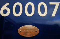 The Great Goodbye (Hawknose Harlequin) Tags: museum br great railway national gathering mallard goodbye a4 the britishrailways lner shildon gresley sirnigelgresley londonandnortheasternrailway mallard75 thegreatgoodbye