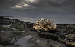 The magic stone (A.Husvaer) Tags: norway coast norge kyst helgeland dønna