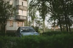 Ford escort (Towy-Yowy) Tags: color fuji minolta 200 x300 rokkor