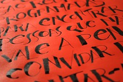 Red (Ivan Jernimo) Tags: pen freestyle expressive brazilian calligraphy sumi ruling caligrafia nanquim   expressiva    tiralinhas