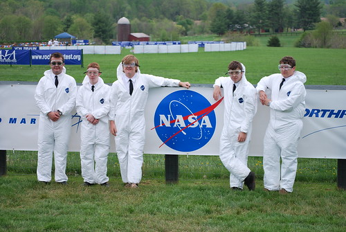 Spaceboys with NASA