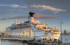 MV Discovery in Liverpool (Explored 12/06/14) (Jeffpmcdonald) Tags: uk liverpool rivermersey mvdiscovery cruiselinerterminal nikond7000 jeffpmcdonald june2014