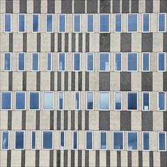 - windows - (Jacqueline ter Haar) Tags: blue windows colour building lines amsterdam bar code pattern graphic ramen patronen ijdock