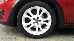 "Volvo alloy wheel refurbishment in Ice White by We Fix Alloys • <a style=""font-size:0.8em;"" href=""http://www.flickr.com/photos/75836697@N06/14470521632/"" target=""_blank"">View on Flickr</a>"
