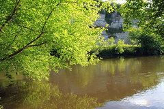 Vézère (Yvan LEMEUR) Tags: france nature river landscape dordogne rivière arbres paysage vézère sudouest aquitaine laroquesaintchristophe lemoustier peyzaclemoustier