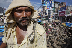 _MG_6843-CR-NB (bemeup99) Tags: nepal man streetscenes bicyclerickshaw nepalgunj