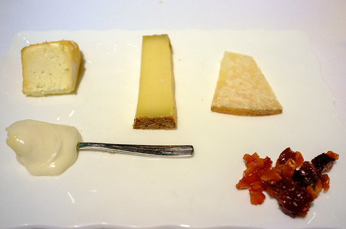 Cheeses served