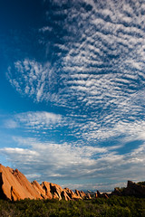 Roxborough State Park Clouds II (A.Bandell) Tags: colorado roxboroughstatepark landscape stateparks rockformations clouds