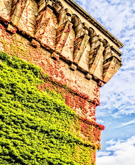 colorful; trier_germany (eks-i zb) Tags: trier architecture bunker germany colorful gradient green red blue sky sun clouds hdr