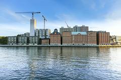 Kvarnholmen (Anders Sellin) Tags: stockholm sweden sverige qvarnen tre kronor baltic sea water vatten kvarnholmen nya lgenheter new buildings apartments batic skrgrd stersjn flat