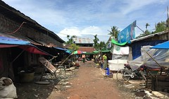 Myanmar, Ayeyarwady Region, Pyapon District, Kyaiklat Township, Kyaiklat Town, street scene (Die Welt, wie ich sie vorfand) Tags: myanmar burma ayeyarwady irrawaddy irrawaddydelta delta bicycle cycling ayeyarwadyregion pyapondistrict kyaiklattownship kyaiklattown pyapon kyaiklat streetmarket streetscene citycentre cbd normal