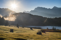 Geroldsee im Herbst (F!o) Tags: geroldsee garmisch partenkirchen bayern alpen alps bavaria germany mountains sea lake sunrise herbst autumn