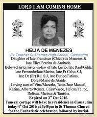 My Teacher Helia de Menezes (joegoaukextra3) Tags: joegoauk goa obit rip