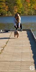 _MG_9474 (Brandon Ricklefs) Tags: explorersoflight naturallight goldenhour nature park libertystatepark girlfriend girl dog adventure vsco vscocam